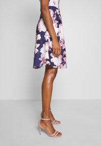Anna Field - Jersey dress - dark blue/rose - 3