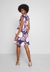 Anna Field - Jersey dress - dark blue/rose - 2