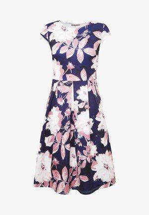 Day dress - dark blue/rose