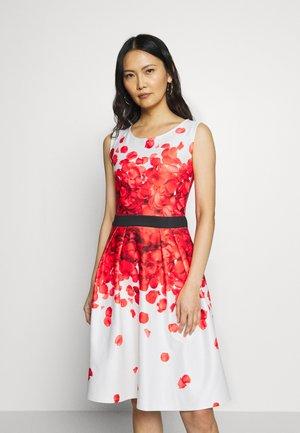 Cocktailkleid/festliches Kleid - white/red