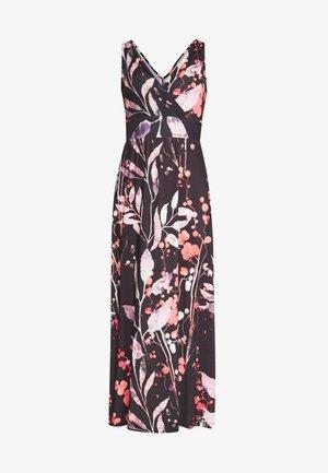 MAXI DRESS WITH PRINT - Maxikjole - black/rose
