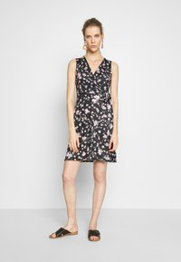 Anna Field - Jersey dress - rose/black - 0