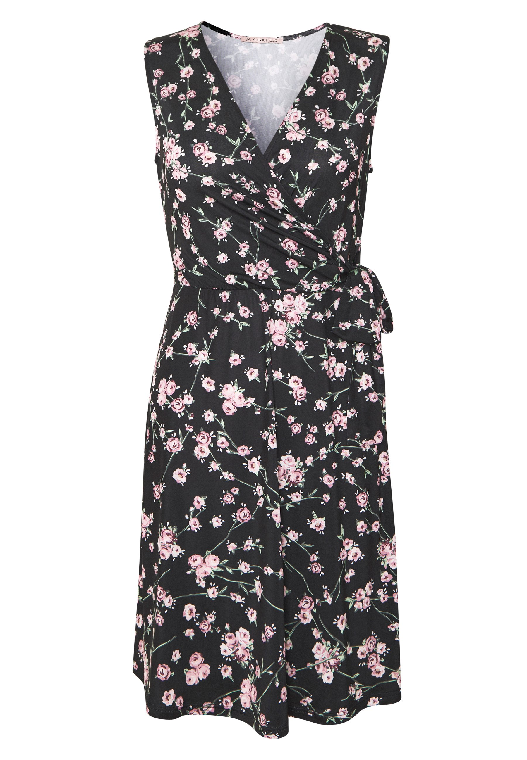 Anna Field Vestito di maglina - rose/black 0iC5hrr8