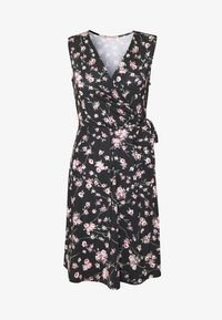 Anna Field - Jersey dress - rose/black