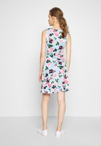 Anna Field - Jerseyjurk - light blue/rose - 3