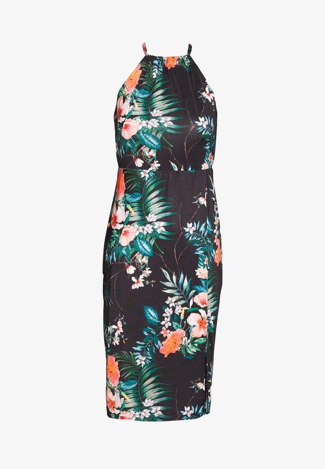 Jerseykleid -  multicoloured/black