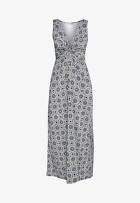 Anna Field - GEO PRINT DRESS  - Maxi-jurk - maritime blue/white - 4