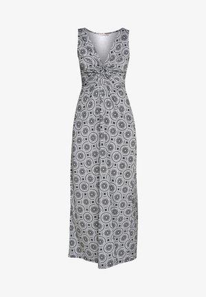 GEO PRINT DRESS  - Maxi šaty - maritime blue/white