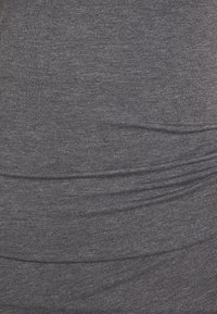 Anna Field - BASIC JERSEYKLEID - Shift dress - grey marl - 2