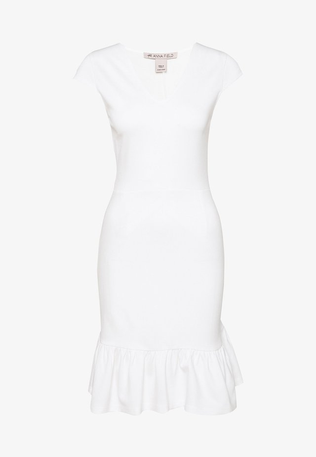 Shift dress - off-white