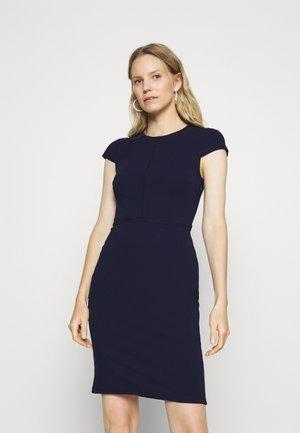 Shift dress - evening blue