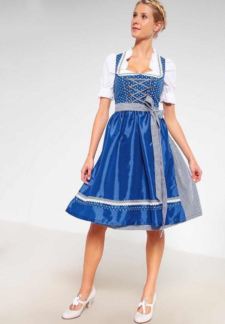Anna Field - Dirndl - royal blau
