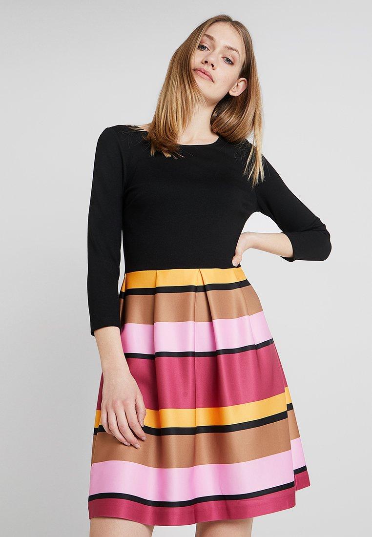 Anna Field - Jerseykleid - pink/black/yellow