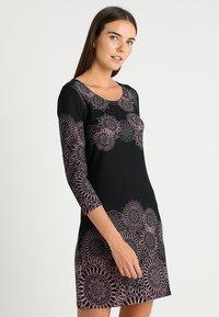 Anna Field - Vestido informal - black/rose - 0