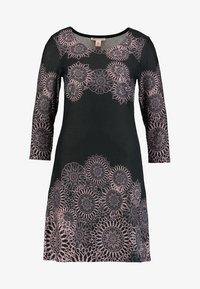 Anna Field - Vestido informal - black/rose - 5