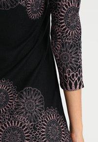 Anna Field - Vestido informal - black/rose - 6