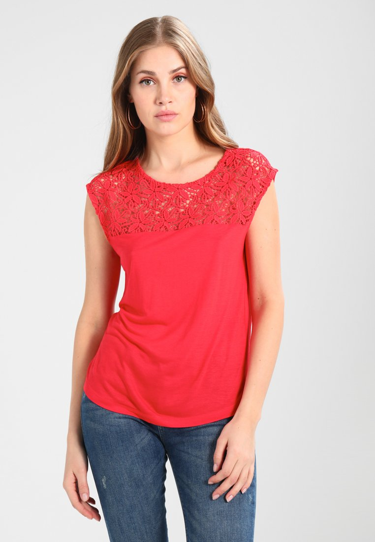 Anna Field - T-Shirt basic - light red