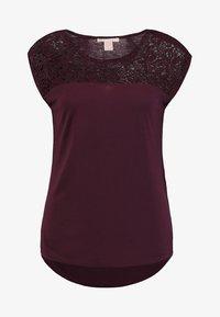 Anna Field - Basic T-shirt - bordeaux - 3