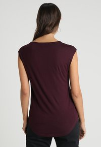 Anna Field - Basic T-shirt - bordeaux - 2