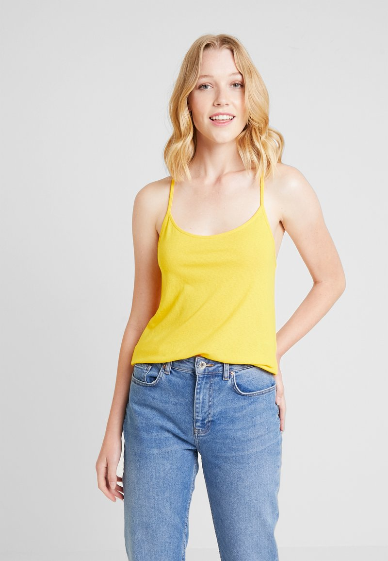 Anna Field - Top - spectra yellow