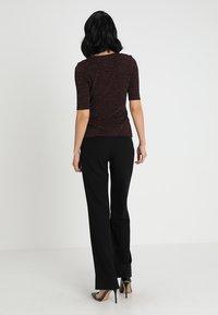 Anna Field - T-shirt print - burgundy - 2