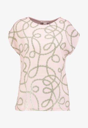 T-shirts med print - pale mauve
