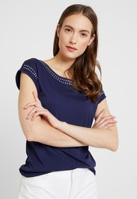 Anna Field - Camiseta estampada - maritime blue - 0