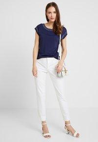 Anna Field - Camiseta estampada - maritime blue - 1