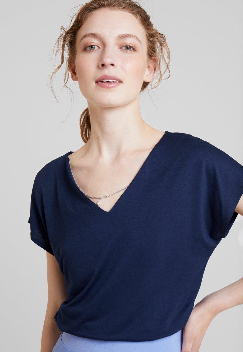 Anna Field - Triko spotiskem - navy blazer