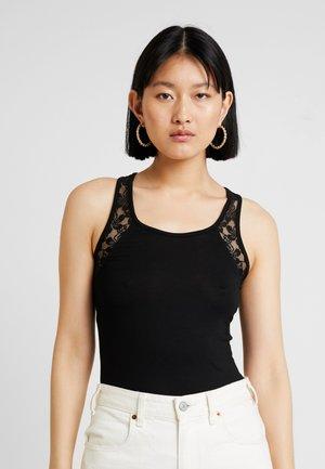 Toppe - black/white