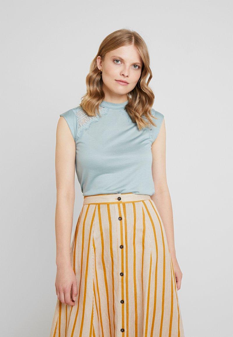 Anna Field - Top - slate blue