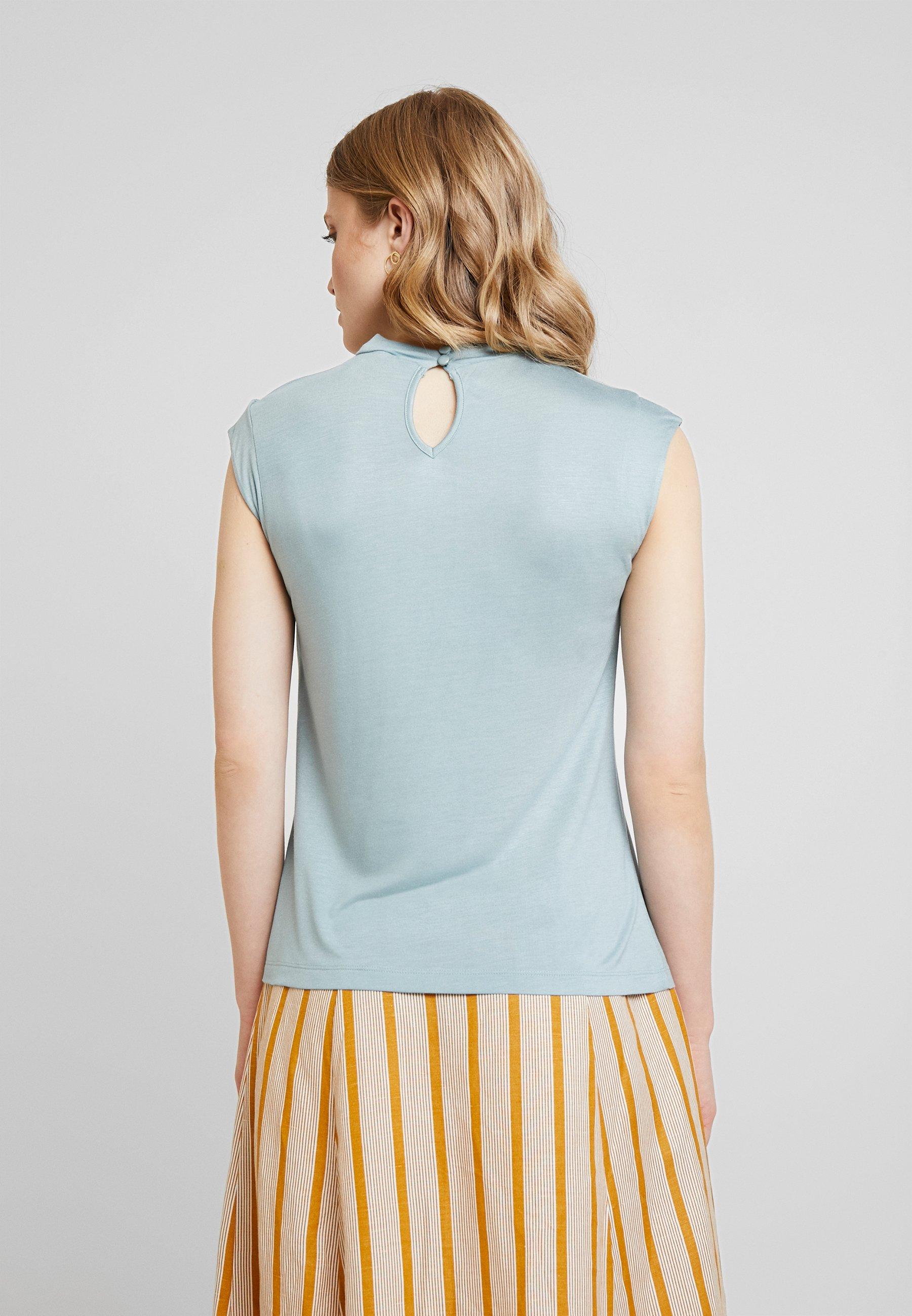 ImpriméSlate Blue shirt Anna T Field kXuPiZ