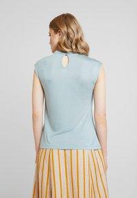 Anna Field - Top - slate blue - 2