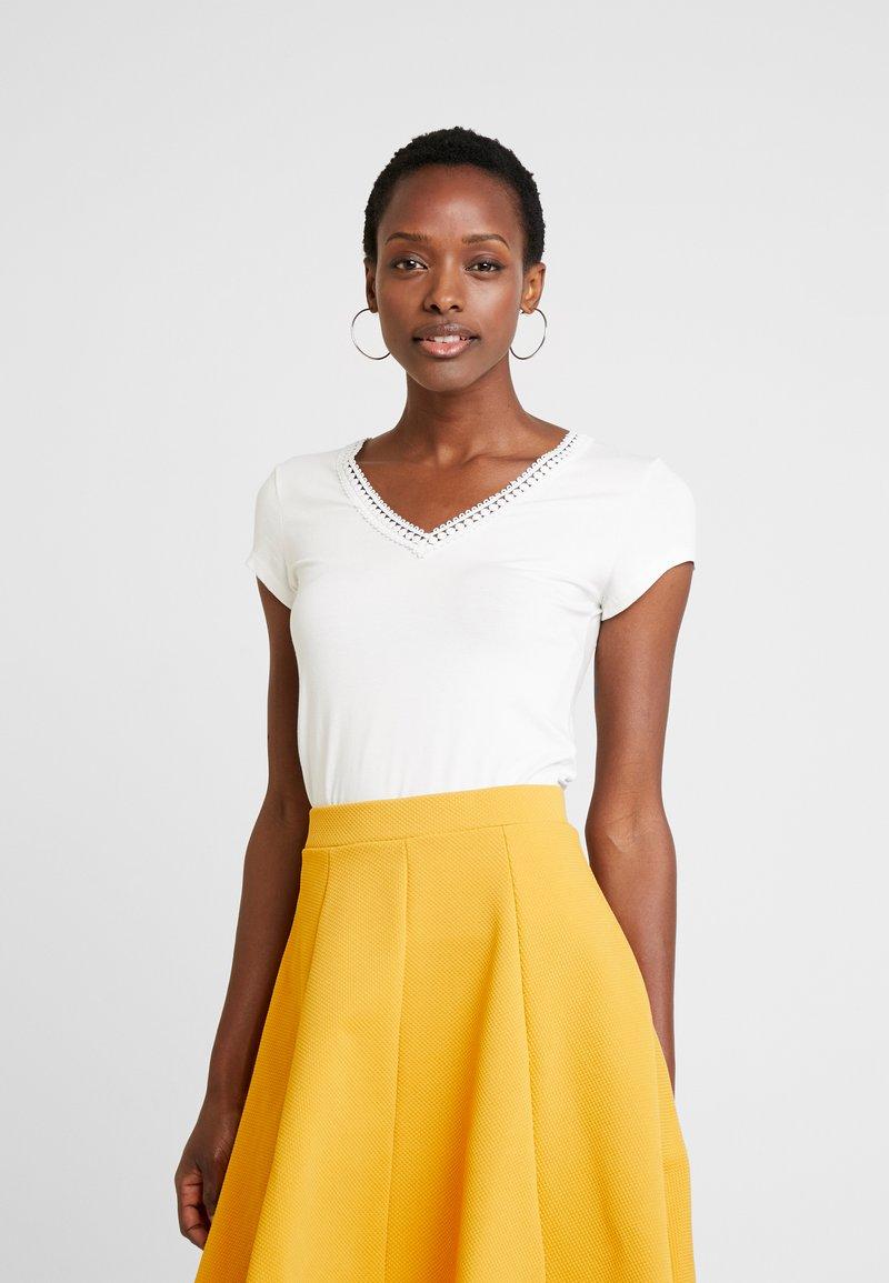 Anna Field - T-shirt med print - off white