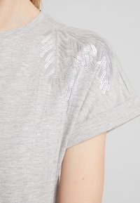 Anna Field - T-shirts med print - mottled grey - 5