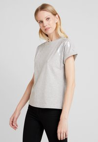 Anna Field - T-shirts med print - mottled grey - 0