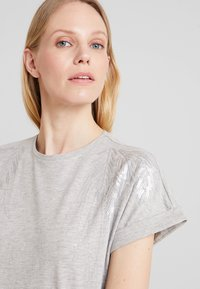 Anna Field - T-shirts med print - mottled grey - 3
