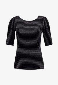 Anna Field - T-shirt z nadrukiem - black - 3