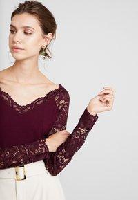 Anna Field - Top sdlouhým rukávem - winetasting - 5