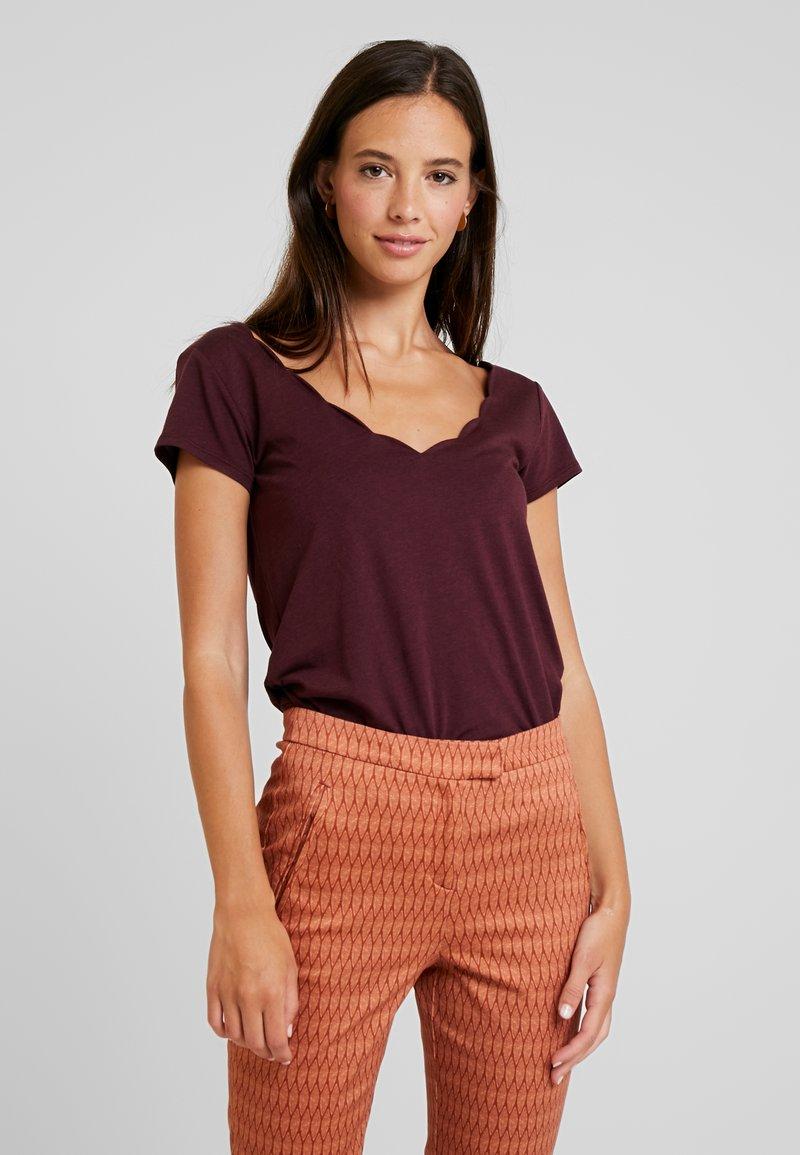 Anna Field - T-Shirt basic - winetasting