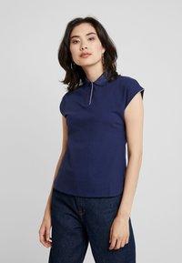 Anna Field - T-shirts med print - navy - 0