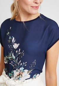Anna Field - T-shirts med print - dark blue/multicoloured - 4
