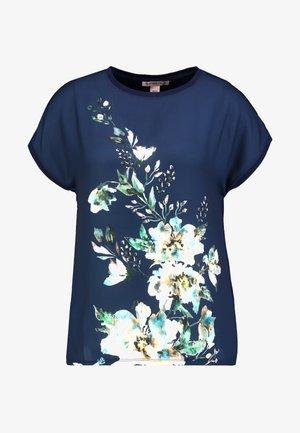 T-shirts med print - dark blue/multicoloured