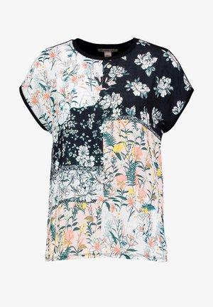 T-shirts med print - black/multicoloured
