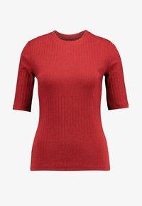Anna Field - T-shirt z nadrukiem - dark red - 3