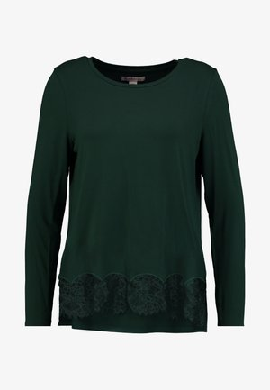 Top - dark green