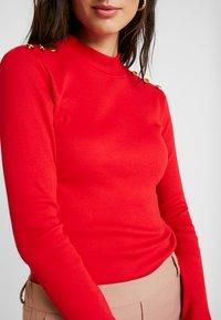 Anna Field - T-shirt à manches longues - goji berry - 5