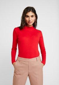 Anna Field - T-shirt à manches longues - goji berry - 0