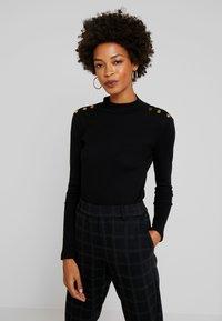 Anna Field - Långärmad tröja - black - 0