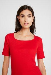 Anna Field - TSHIRT BASIC - Long sleeved top - goji berry - 3